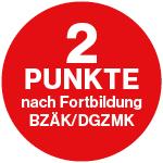 2 Punkte nach Fortbildung BZÄK/DGZMK