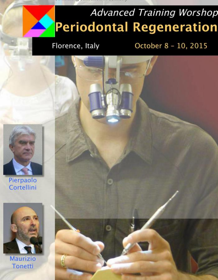 Advanced Training Workshop on Periodontal Regeneration: theory, hands-on and live surgery
